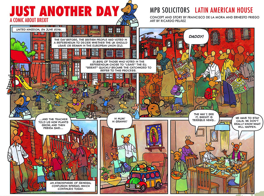 A Comic about Brexit